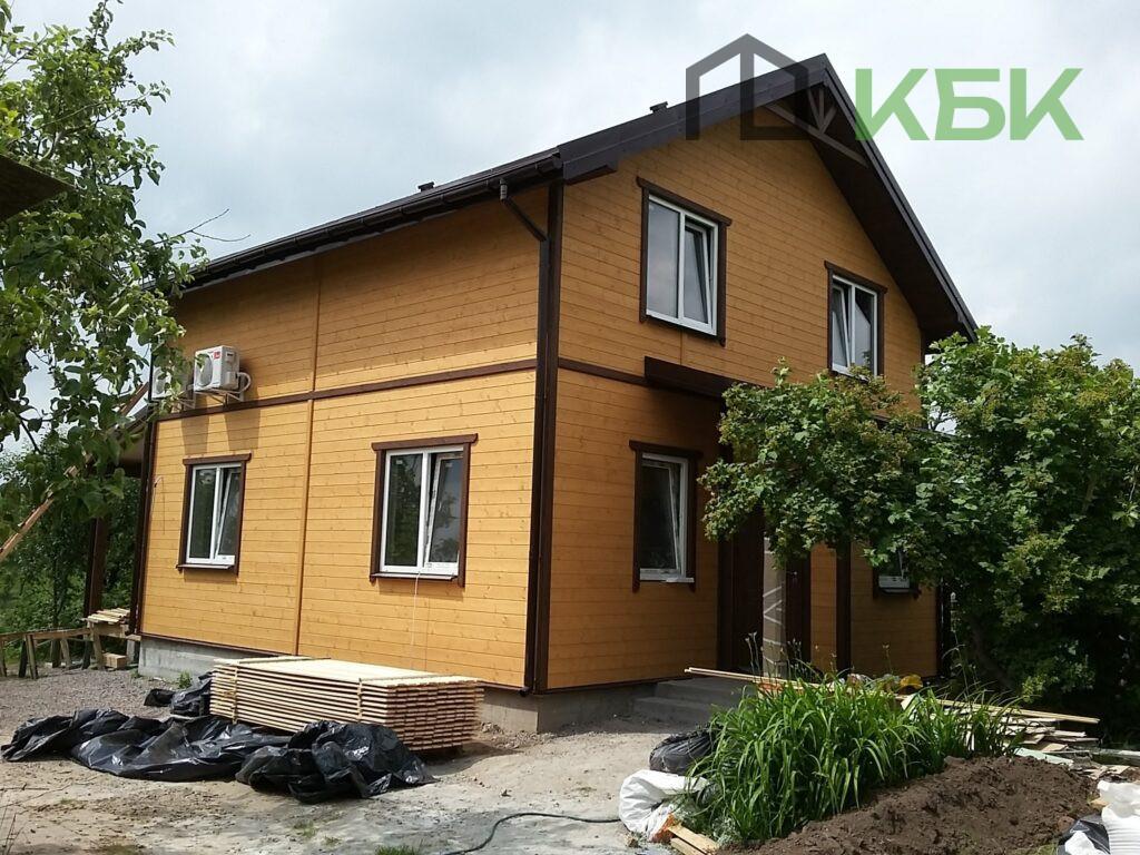 Каркасне будівництво будинків готовий проект фото