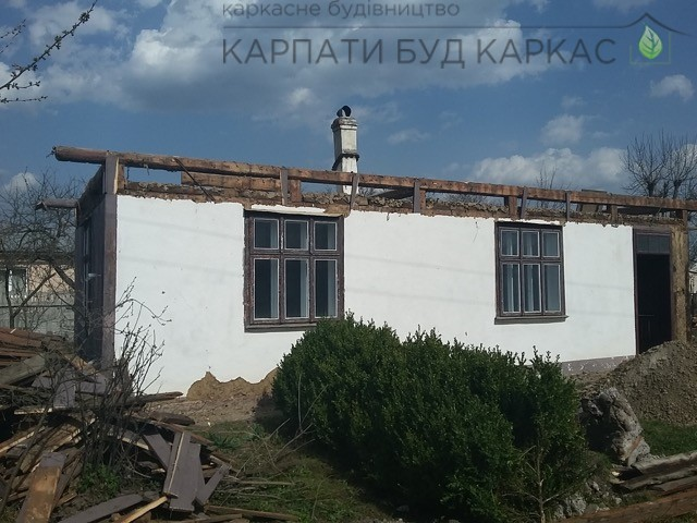 Снос старых зданий перед постройкой каркасных домов