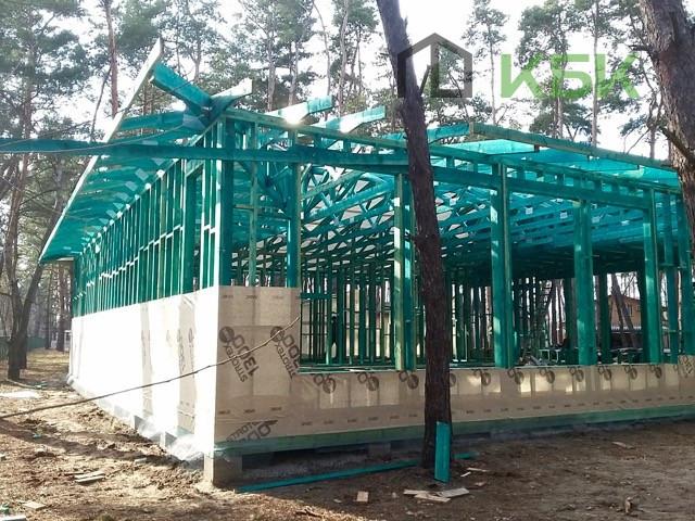 Початок будівництва конференц зали фото