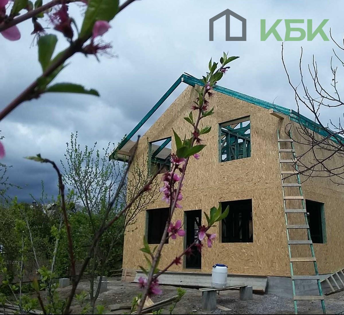 Будівництво каркасного будинку під ключ