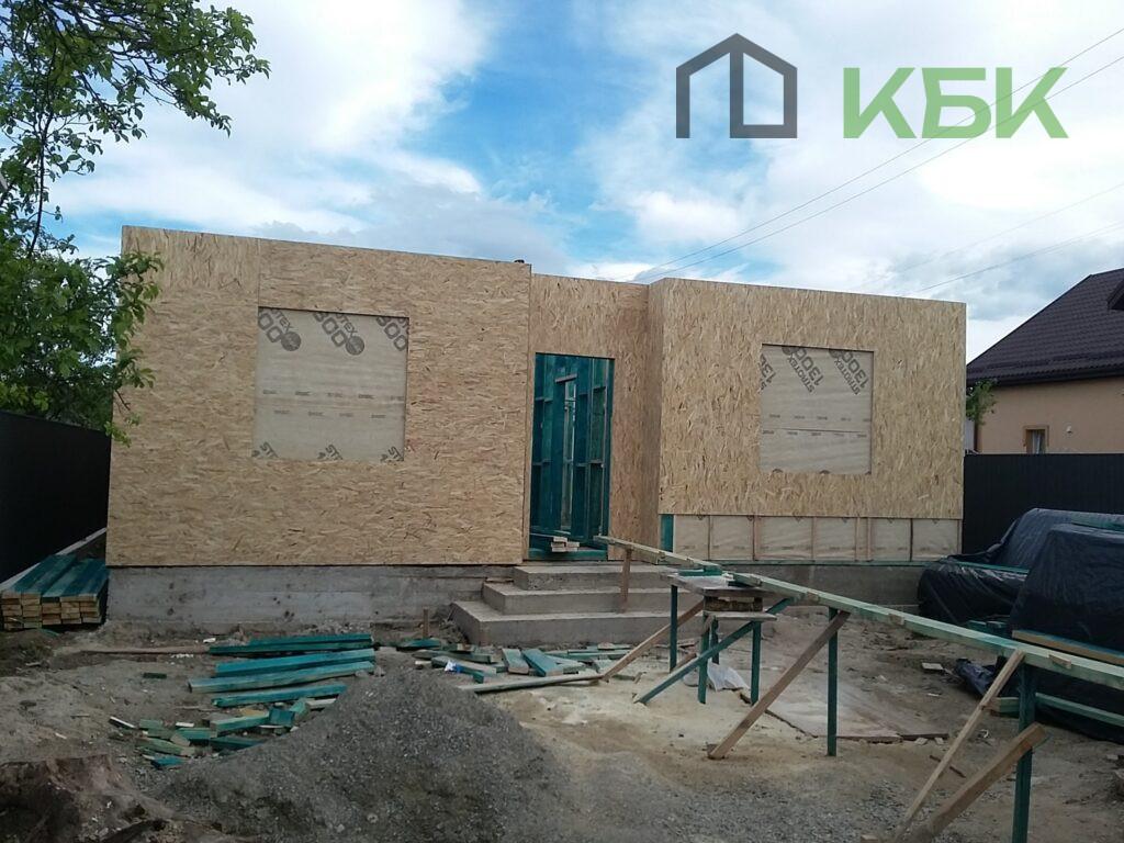 Будівництво каркасного будинку під ключ утеплення