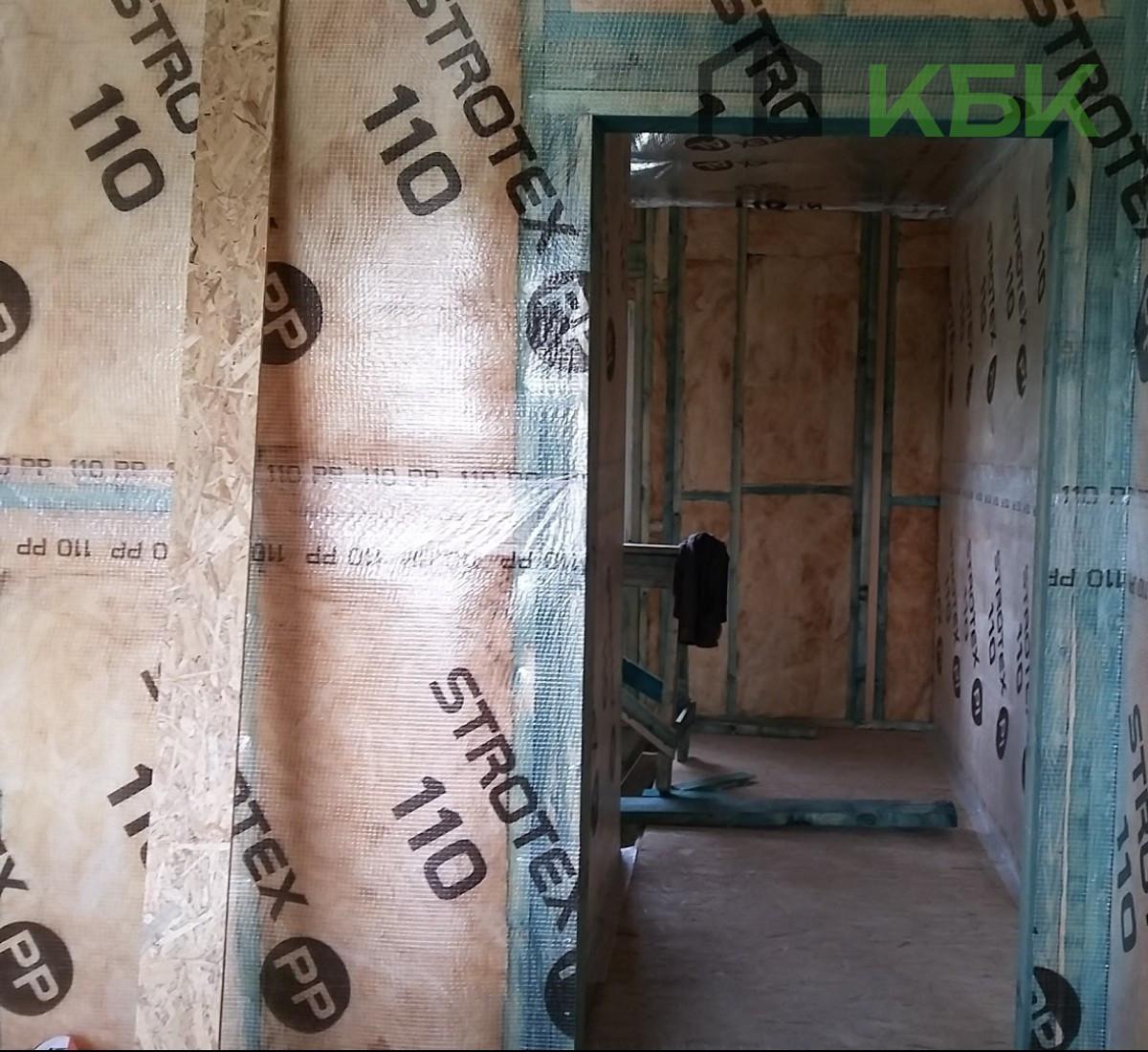 Будівництво каркасного будинку під ключ всередині фото інтер'єр