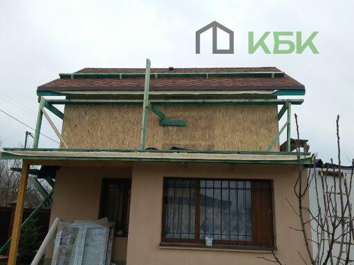 Фото каркасної надбудоваи дерев'яного будинку