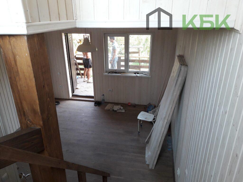 каркасний будинок всередині під ключ